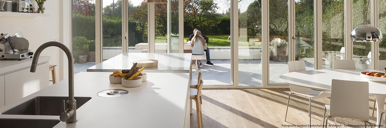 OntwerpAtelier - Peter Jannes architect - woning te Edegem