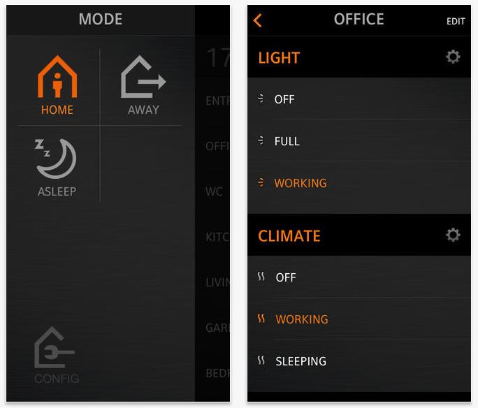 Domotica via smartphone & iphone - toepassingen domotica
