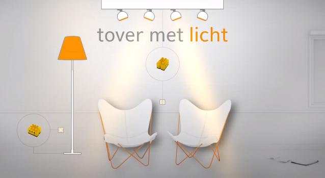 domotica lichtsturing - verlichting bedienen via domotica app voor iphone & ipad