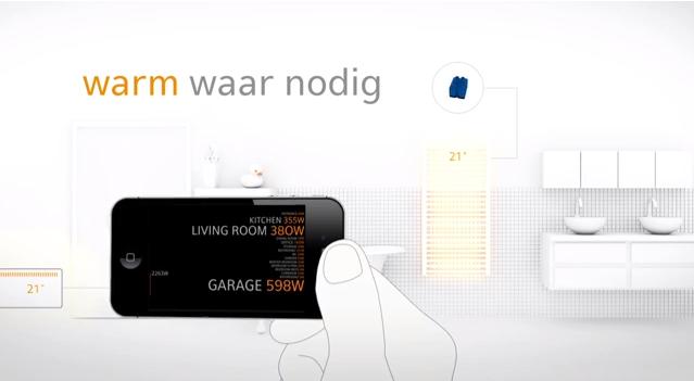 huis bedienen vanop afstand - one domotica app iphone & ipad