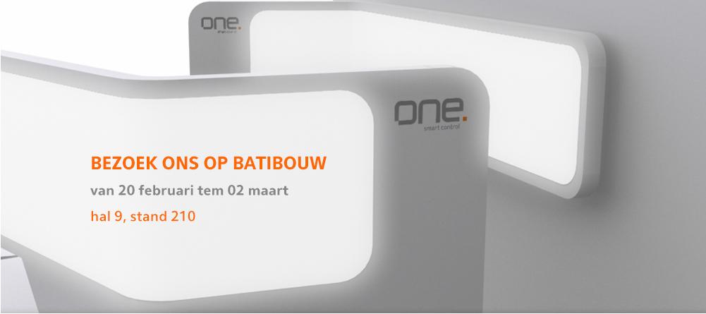 Ontmoet One op Batibouw 2014 - stand 9210, hal 9