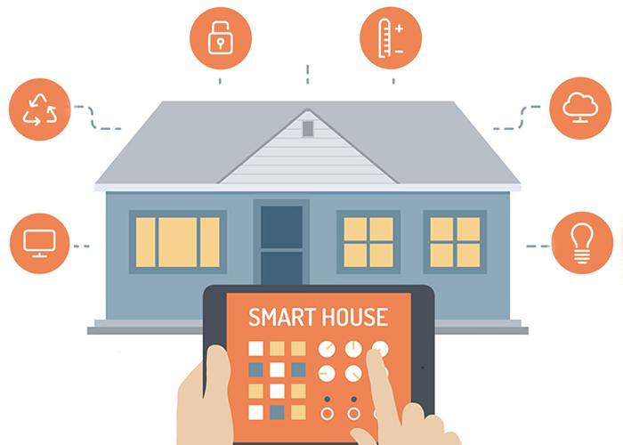 Huisautomatisering alles-uitknop